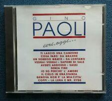 "CD ""GINO PAOLI Ieri, oggi..."" 1991 FM 18010 - NM"