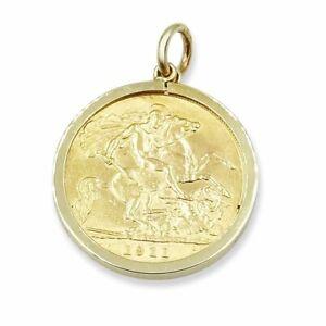 Gold Half Sovereign & Pendant 1911 GEORGE V