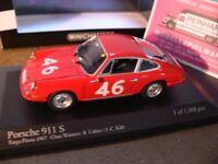 1/43 Minichamps Porsche 911 Cahier/Killy Targa Fiorio 1967 #46 430676746