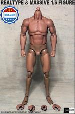 GangHood 1.0█1/6 Muscular Figure Body for Bane Arnold Wolverine Logan Head play