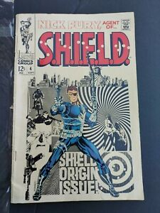 Nick fury agent of shield 4 Marvel Comic