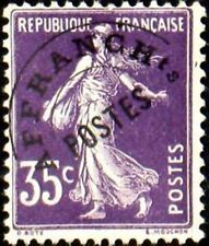 "FRANCE PREOBLITERE TIMBRE STAMP N° 62 "" TYPE SEMEUSE 35C VIOLET "" NEUF xx TTB"