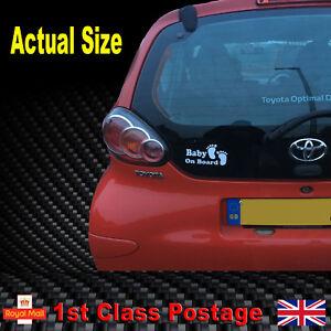 Baby On Board Car Sticker Funny Children Vinyl Car Window Decal Onboard Sign