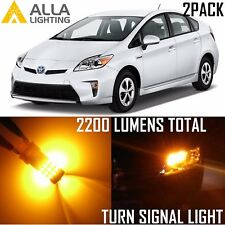 Alla Lighting 39-LED Turn Signal Light 7440A Amber Blinker Bulbs for Toyota RAV4