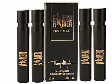 A Men Thierry Mugler Pure Malt EDT Spray for Men 1.2ml 0.04oz Sample Vial 4 PCS