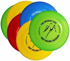 Wham-O FASTBACK DOG FRISBEE – WRIGHT LIFE Single Disc (Assorted Colors)