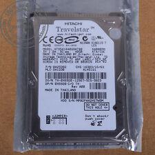 """Hitachi 40 GB 2.5"""" 5400 RPM 8 MB IDE PATA Hard Disk Drive HDD HTS541040G9AT00"""