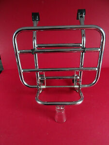 Vespa PK50 50s & PKXL New Old Stock Chrome Faco Fold Down Front Carrier