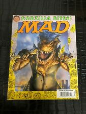 JUNE 1998 MAD vintage magazine (UNREAD - NO LABEL ) - GODZILLA