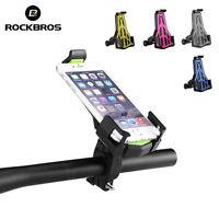 ROCKBROS Bicycle MTB Road Bike Phone Holder Mounts Adjustable Phone Holder New
