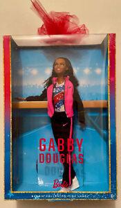 GABBY DOUGLAS BARBIE DOLL 2016 PINK LABEL MATTEL FGC34 NRFB