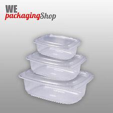 CONTENITORI IN PLASTICA 500 CC50PZ - VASCHETTE PLASTICA ALIMENTI RICHIUDIBILI