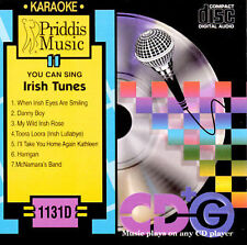 Various Artists : Karaoke: Irish Tunes CD