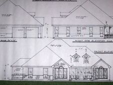Custom House Plan 2344 A/C Sq. Ft. 3/2/1.5 1Story Open Plan Formal Dining