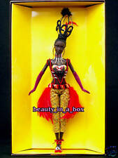 """TANO Barbie Doll Treasures of Africa Byron Lars in SHIPPER African American AA"""""""