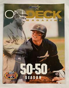 Houston Astros 1999 On Deck Spring Training Magazine & Scorecard
