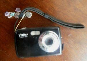 Vivitar ViviCam V7024 7.1MP Digital Camera - Black, TESTED In good condition