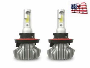 FANLESS VERY BRIGHT POLARIS RANGER RZR HEADLIGHT LED LIGHT BULBS 20000LM WHITE