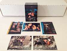 CATWOMAN THE MOVIE (2004) Complete Card Set w/ HALLE BERRY w/ PROMO #FCBD-1