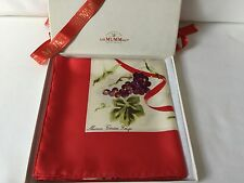 Magnifique Carré foulard soie MUMM Cordon Rouge
