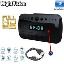 1080P Mini HD SPY Hidden Camera Alarm Clock Night Vision DVR Video Recorders Cam