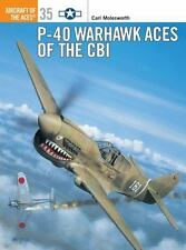 "MOLESWORTH ""P-40 WARHAWK ACES OF THE CBI"" 2000 1ST PB ED NEW"