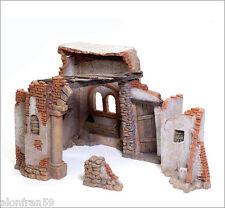 Figura Belen J.L.Mayo  Portal de Belén (construcción) BEL912