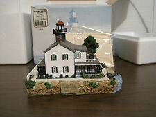 2002 Harbour Lights Lighthouse #276 Tucker'S Island, New Jersey (Nib)