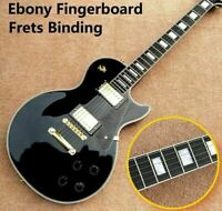 Custom Shop Black Beauty Ebony Fretboard Electric Guitar (FREE SHIPPING)