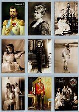 Nicholas II Russian Romanov Royalty Family SET of 9 POCKET CALENDARS 2013