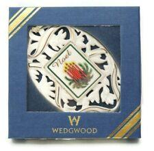 "Wedgwood S 00004000 eason's Sentiment Edition #3, ""Noel""Ornament"
