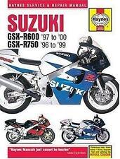 1996 1997 1998 1999 2000 Suzuki GSXR600 GSXR750 Haynes Repair Shop Manual 3021