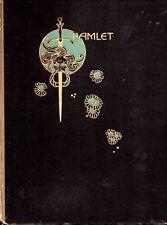 JOHN AUSTEN ILLUSTRATED HAMLET - ULTRA RARE 1922 1ST ED. H/B