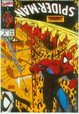 Marvel Comics Postcard: Spiderman # 3 cover (Todd McFarlane) (Estados Unidos, 1991)