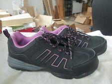 Women's HYTEST Workshoes K17320 9.5 steel toe Purple Black NEVER WORN