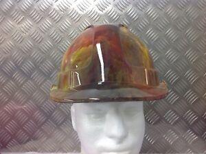 safety hard hat / helmet - Colourful cloud design- fully BS EN397 compliant
