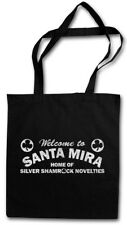 Santa Mira Tessuto Borsa Borsa di acquisto Road sign logo Cloverleaf Halloween City