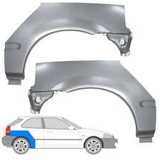 Honda Civic EJ/EK VI 1995-2001 3 Tür Radlauf Reparaturblech Kotflügel / Paar