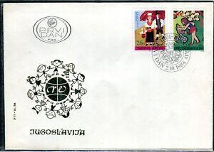 2067 - Yugoslavia 1984 - Joy of Europa - Childrens Painting - FDC