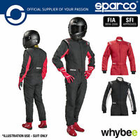New! 001091 Sparco Sprint RS-2.1 Race Suit Entry Level Fireproof FIA Approved