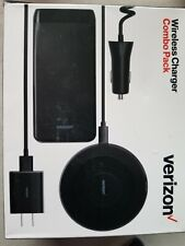 Verizon Wireless Charger Combo Pack, iPhone Charging Pad+Battery Pack+Chargers