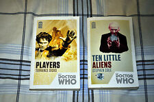Dr Doctor Who 2 softback novels 50th ANNIVERSARY: TEN LITTLE ALIENS and PLAYERS