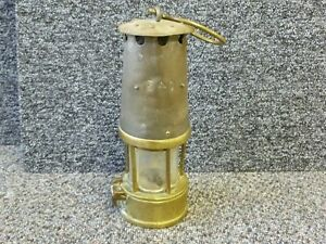 The Eccles Protector Lamp & Lighting Co Miners Lamp