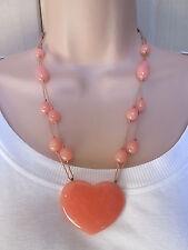 Peach Lola Rose Costume Jewellery