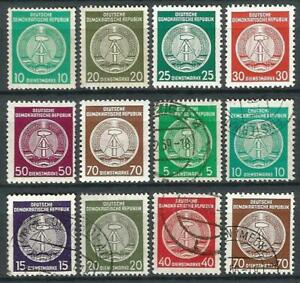 Germany (East) GDR DDR (1954-1957) - Selection Mint/Used Stamps Officials #17