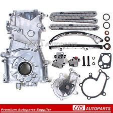 Fits 98-01 Nissan Altima 2.4L KA24DE Timing Chain Kit W/O Gears Oil & Water Pump