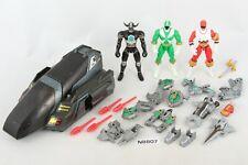 Power Rangers Lost Galaxy Speeder, Lightspeed Rescue Armor Green Ranger Red