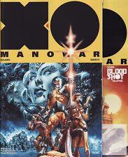 X-O MANOWAR #1 Valiant Comics 1ST & 2ND PRINTING VARIANT/FCBD 2017 + 0 Bloodshot