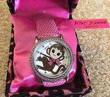 Betsey Johnson Timepieces Featuring A Monkey NIB