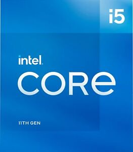 Intel - Core i5-11400 11th Generation - 6 Core - 12 Thread - 2.6 to 4.4 GHz -...